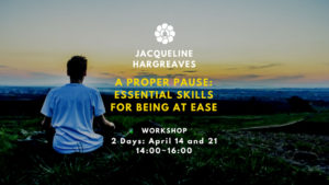 jacqueline hargreaves a proper pause workshop