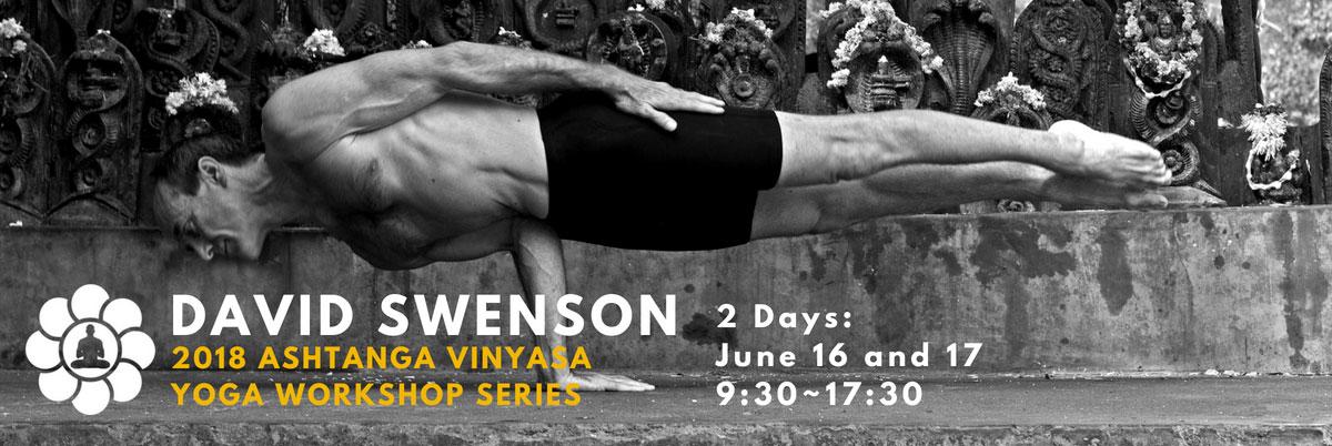 David Swenson: Ashtanga Yoga Workshop Series in Tokyo