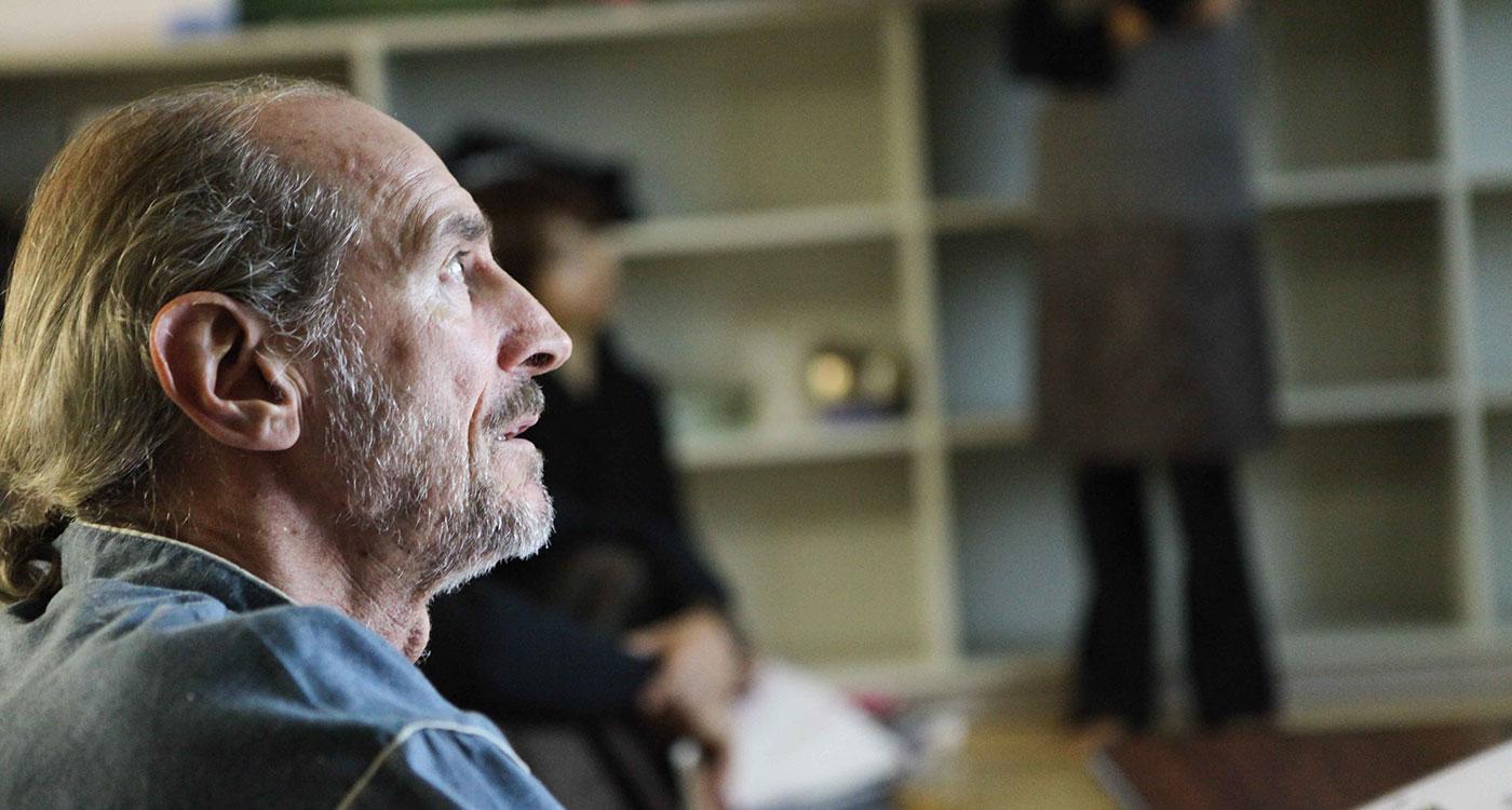 Emil Wendel at YogaJaya in Tokyo